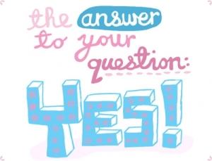 yes resposta