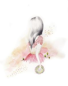 girl heart dress
