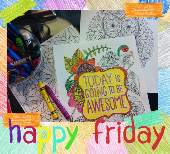 color - happy friday