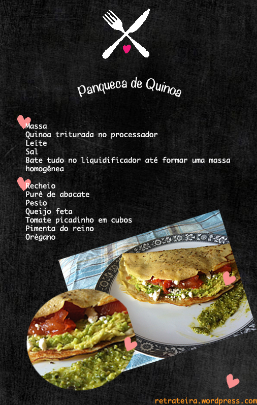 panqueca de quinoa