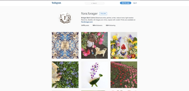Flora-instagran
